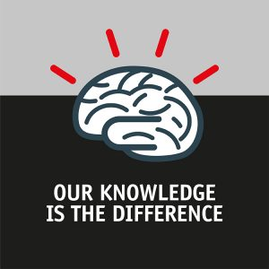Our knowledge is the difference