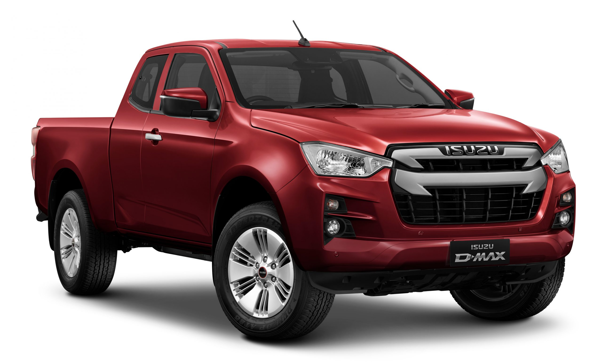 Isuzu D-Max DL20 Extended Cab Spinel Red